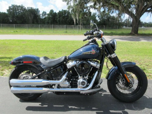 2019 Harley-Davidson Softail Slim Blue for sale craigslist