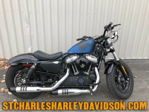 2019 Harley-Davidson Sportster XL 1200X - Forty-Eight 115Th Anniversa Legand Blue Denim for sale craigslist