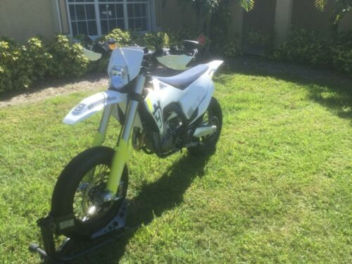 2019 Husqvarna 450 SF SuperMoto White / Yellow / Purple for sale