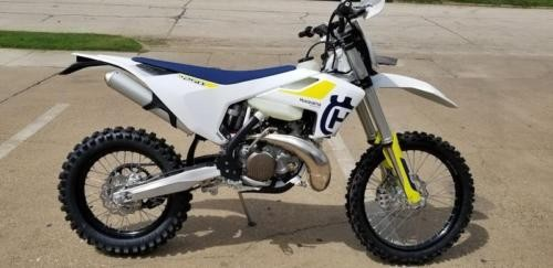 2019 Husqvarna TE 250i -- White for sale