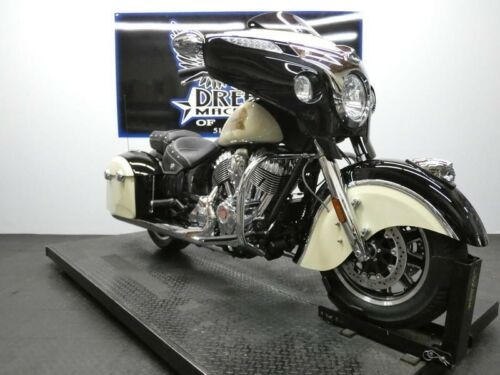 2019 Indian Chieftain Classic Thunder Black Ivory Cream -- Black for sale craigslist