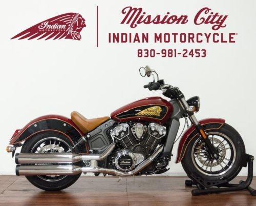 2019 Indian Scout® ABS Indian Motorcycle® Red / Thunder Black -- Black for sale