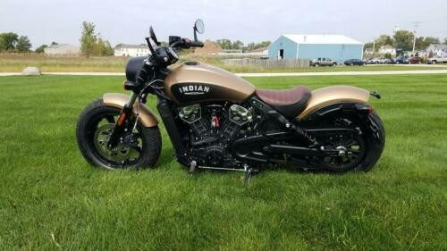 2019 Indian Scout® Bobber Icon Series Deep Brass Smoke -- Brass smoke for sale craigslist