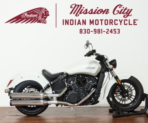 2019 Indian Scout® Sixty ABS White Smoke -- White craigslist