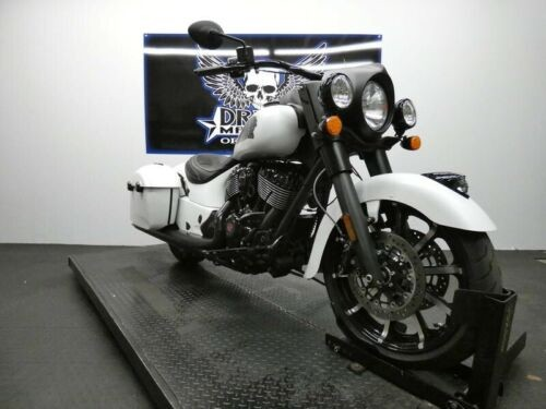 2019 Indian Springfield Dark Horse White Smoke -- White for sale