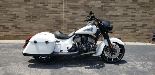 2019 Indian Springfield® Dark Horse® ABS -- White for sale craigslist
