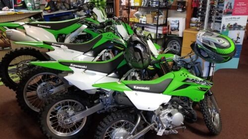 2019 Kawasaki KLX 110 -- Green for sale craigslist