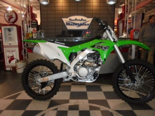 2019 Kawasaki KX 250F -- Green for sale