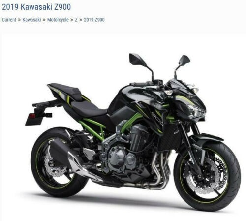 2019 Kawasaki Z900 ZR900AKF Black for sale