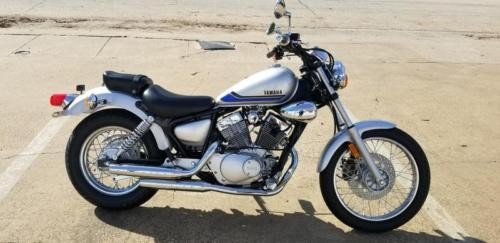 2019 Yamaha V Star 250 -- Silver for sale