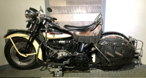 1947 Harley-Davidson EL Knucklehead Black for sale