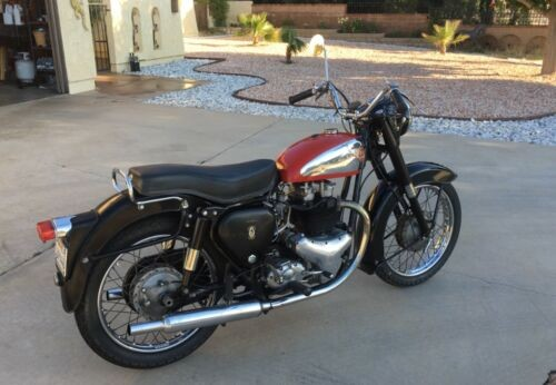 1957 BSA A10 Golden Flash Red for sale
