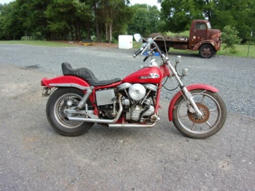 1957 Harley-Davidson ANTIQUE Red for sale