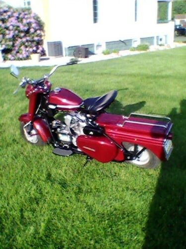 1962 Cushman Super silver eagle Flame red metallic for sale craigslist