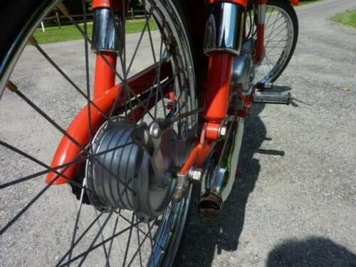 1965 Harley-Davidson M50 Red for sale craigslist