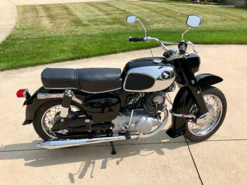 1965 Honda Dream 305 Black for sale craigslist