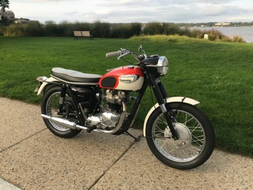 1966 Triumph Thunderbird Orange for sale