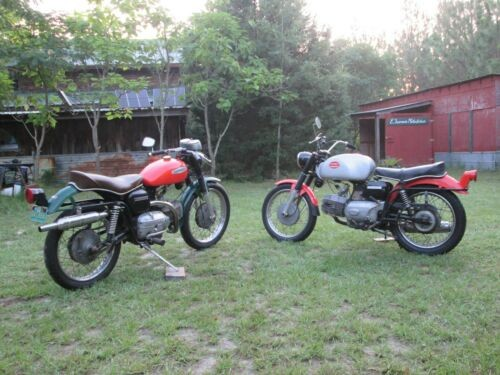 1967 Harley-Davidson 250 Sprint SS and 250 Sprint H for sale