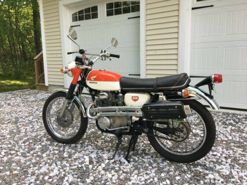 1968 Honda CL orange/white craigslist