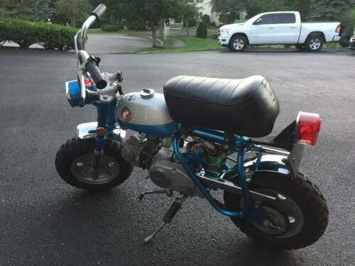1969 Honda Z50A K1 CandyBlue/Silver for sale craigslist