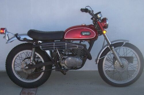 1970 Yamaha Enduro Red craigslist