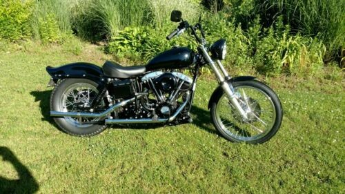 1971 Harley-Davidson FXE Black for sale craigslist