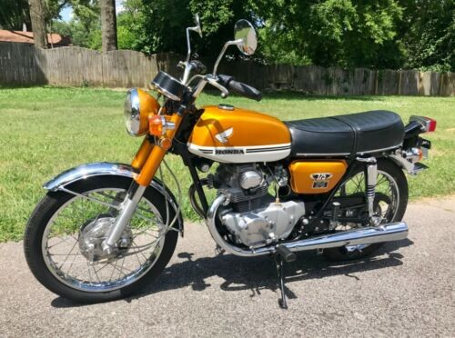 1971 Honda CB Candy Gold for sale