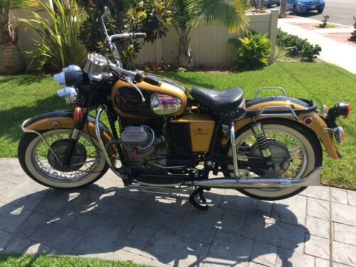1971 Moto Guzzi 750 Ambassador Gold for sale craigslist
