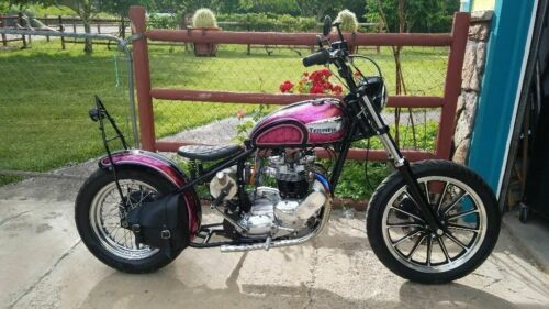 1971 Triumph Tiger Pink for sale craigslist