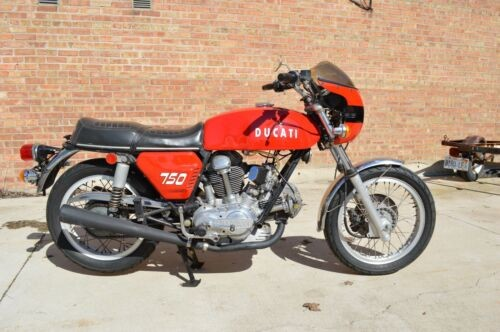 1972 Ducati 750GT Red for sale craigslist