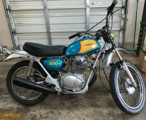 1972 Honda SL 350 Green for sale