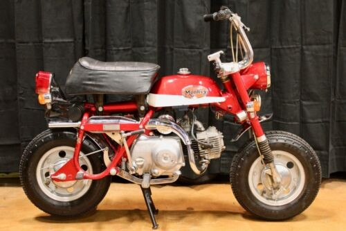 1972 Honda Z50Z K1 Monkey Red for sale craigslist