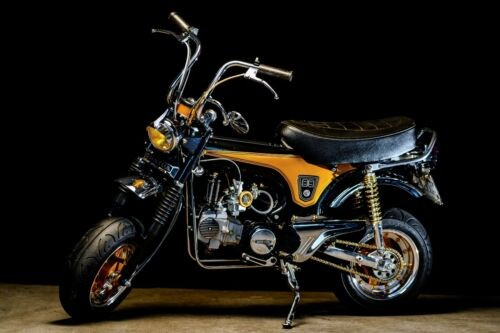 Custom Built Motorcycles: CT70 Black craigslist