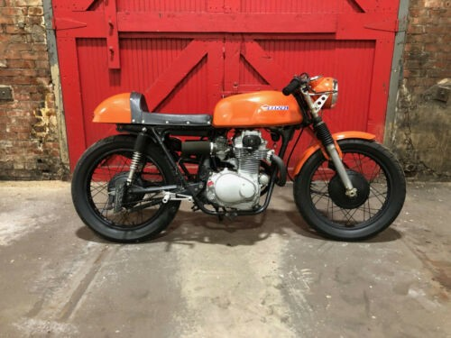 1973 Honda CB Orange for sale craigslist