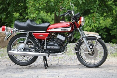 1973 Yamaha RD350 YAMAHA Red for sale craigslist