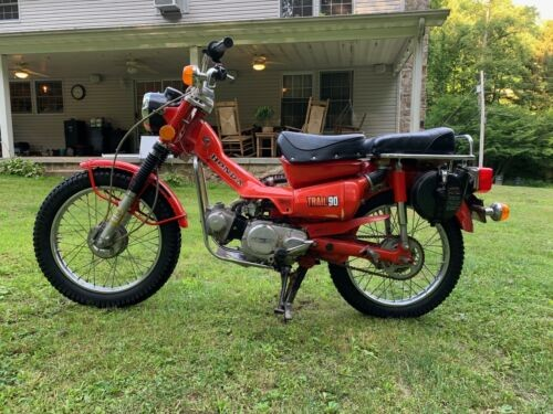 1974 Honda CT90 Red for sale