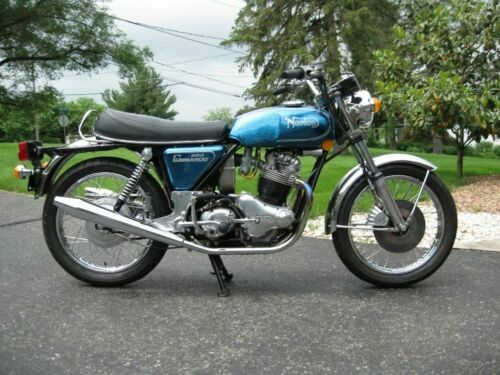 1974 Norton Commando Blue for sale