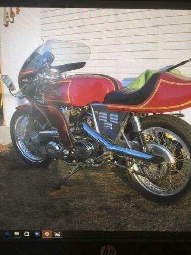 1975 Kawasaki Rickman Cranberry with gold leaf pinstriping for sale