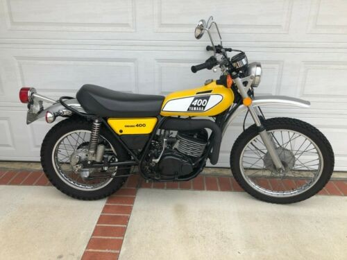 1975 Yamaha DT 400 B Yellow for sale craigslist