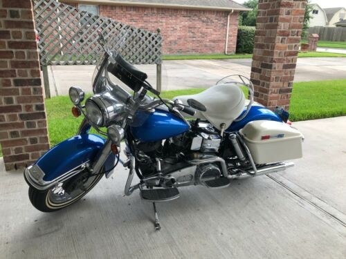 1976 Harley-Davidson FLH Blue for sale craigslist
