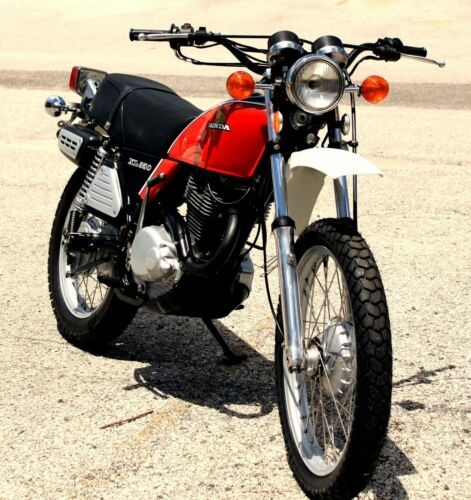 1976 Honda XL350 Red and Black craigslist