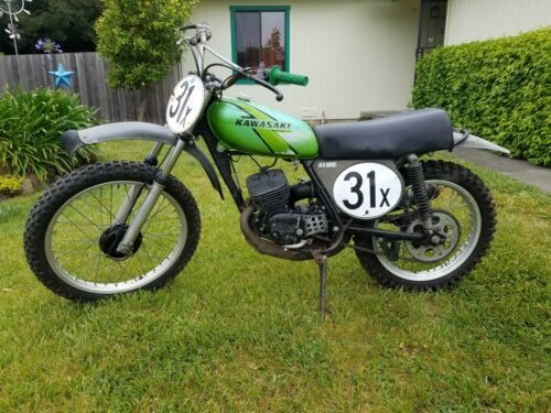1976 Kawasaki KX Green for sale craigslist