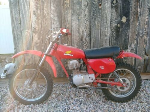 1977 Honda XR75 Red for sale craigslist