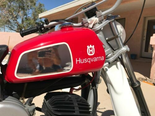 1977 Husqvarna 360 auto Red for sale