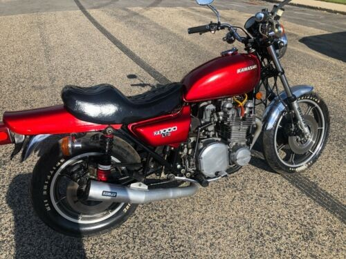 1977 Kawasaki LTD Red for sale craigslist
