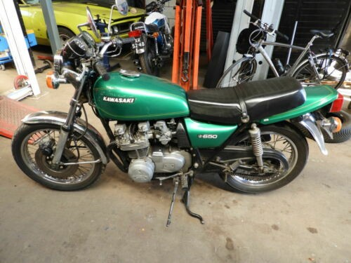 1977 Kawasaki Z650 Green for sale craigslist
