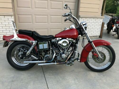 1978 Harley-Davidson FLH Red for sale