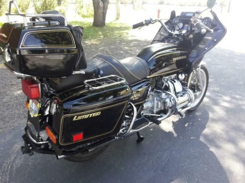 1978 Honda Gold Wing Black / Gold craigslist