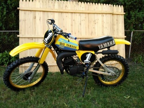 1978 Yamaha YZ Yellow for sale craigslist