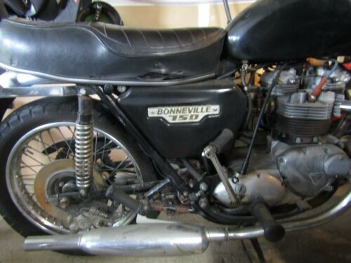 1979 Triumph Bonneville Black for sale